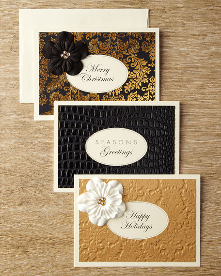Flower Christmas Cards