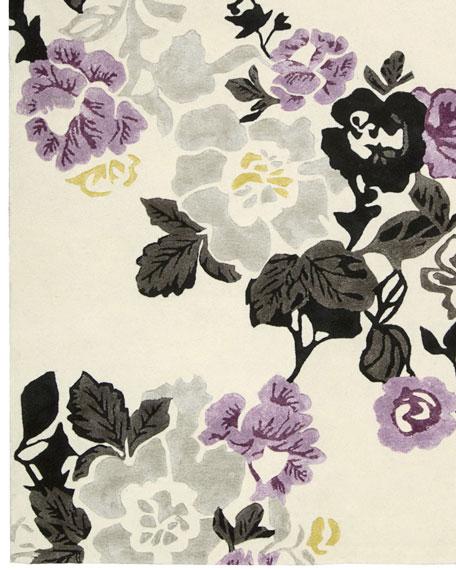 "Lilac Fiesta Rug, 3'6"" x 5'6"""