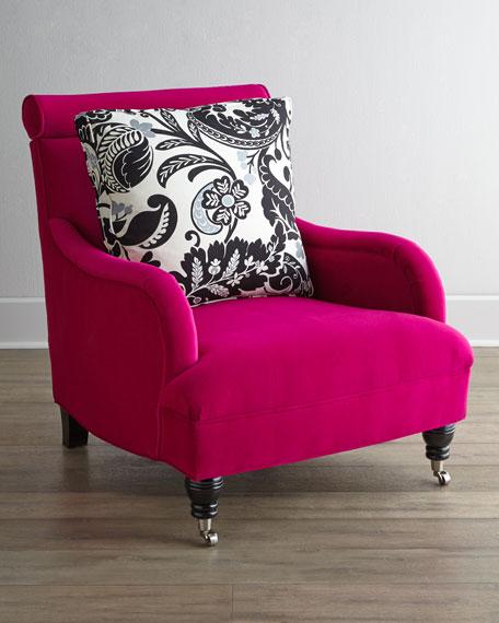 Fuchsia Sophie Chair