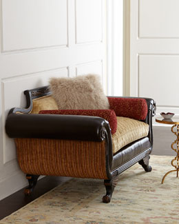 Old Hickory Tannery Topaz Settee