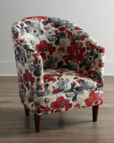 Watercolor Tub Chair