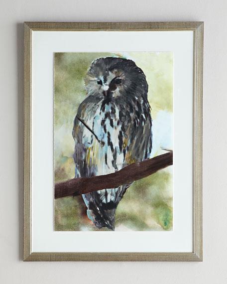 Spring Owl Giclee