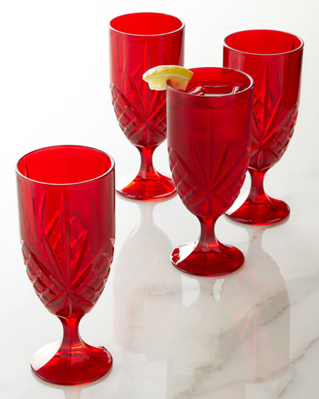 Dublin Iced Beverage Glasses, Set of 4