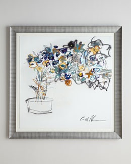RFA Fine Art New Flower Giclee
