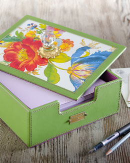 MacKenzie-Childs Flower Market Desk Box