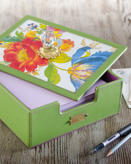 Flower Market Desk Box