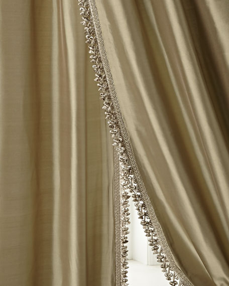 "Each 108""L Crystal Palace Imperial Silk Curtain"
