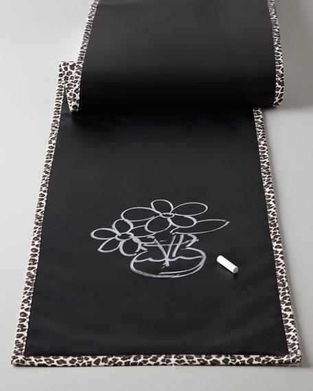 Reversible Chalkboard Table Runner