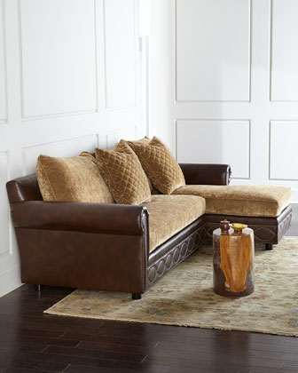 Old Hickory Tannery Jacinto Sectional Sofa