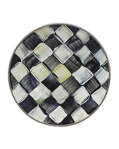 Courtly Check Saucer