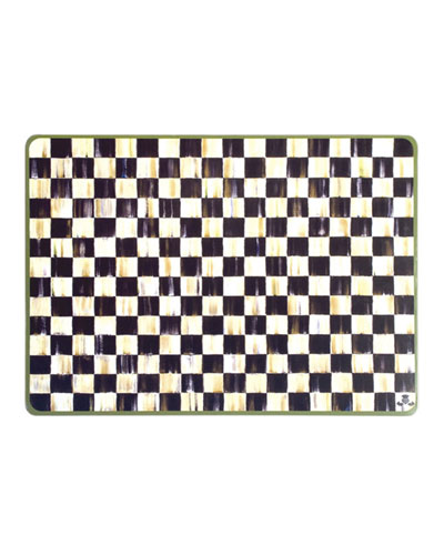 Courtly Check Placemats  Set of 4