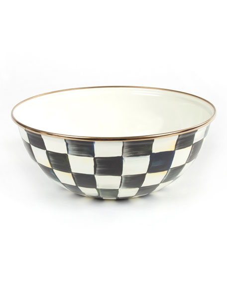 MacKenzie-Childs Courtly Check Medium Everyday Bowl