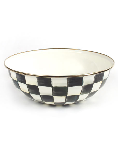 MacKenzie-Childs Courtly Check Extra-Large Everyday Bowl
