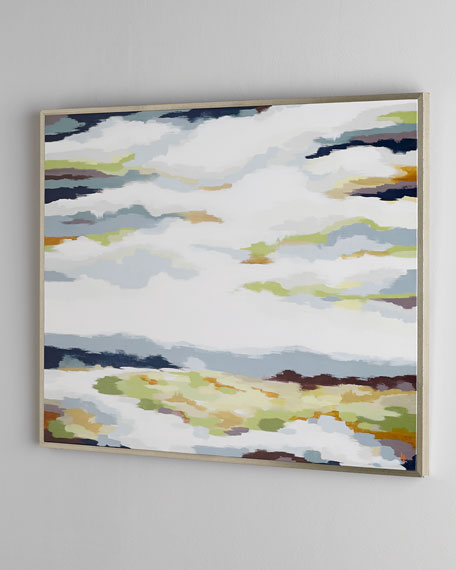 White Creek Abstract Giclee