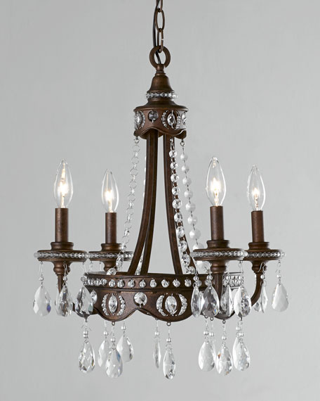 Bolivian Four-Light Chandelier