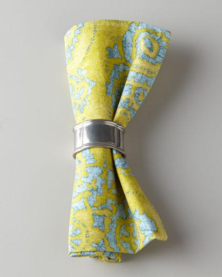 Chartreuse Medallion Napkin