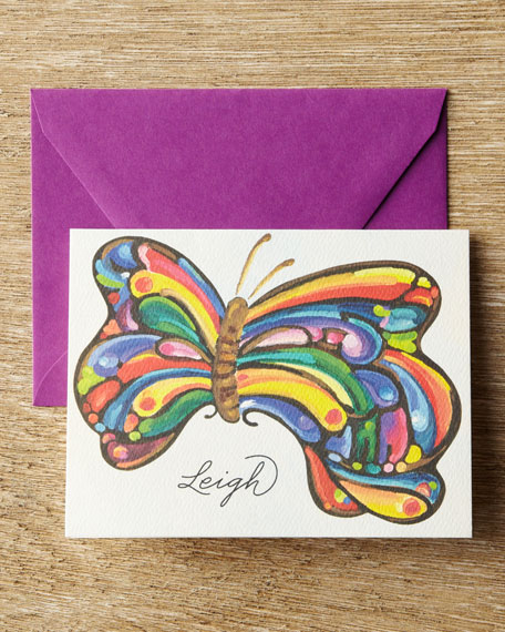 25 Butterfly Folded Notes