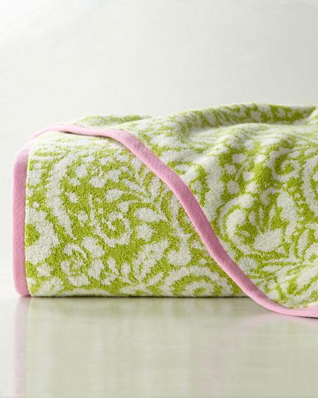 Dena Jacquard Fingertip Towel
