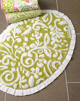 Dena Home Dena Floral Jacquard Bath Rug