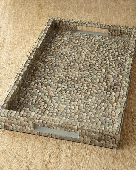 Pebbled Shell Tray