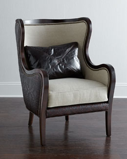 Massoud Leanna Wing Chair