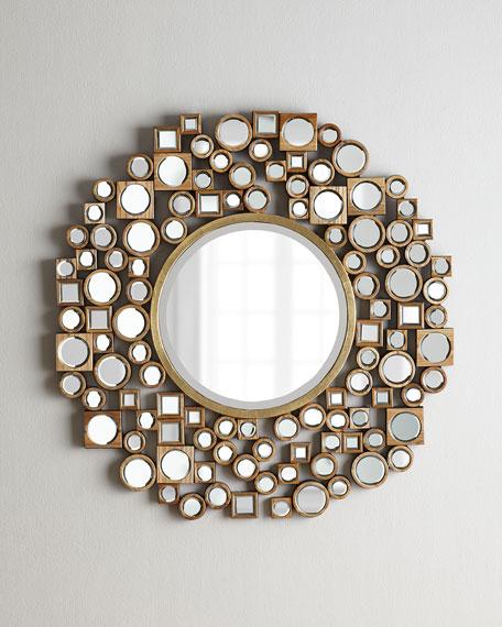 Golden Jorn Mirror