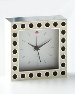 kate spade new york Crosse Pointe Clock