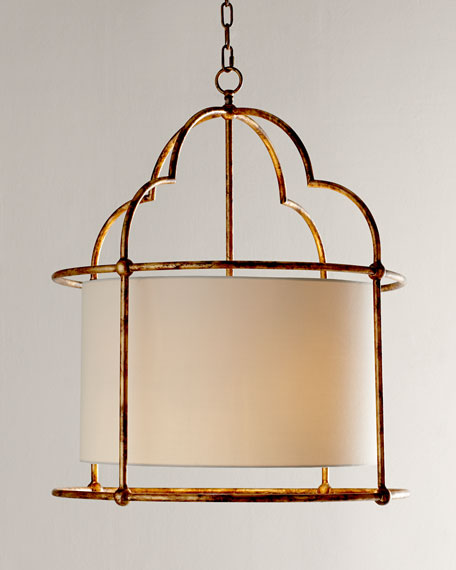 Daniella Golden Two-Light Pendant