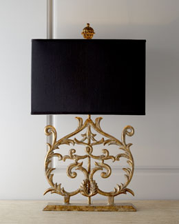 Fraziet Cast-Iron Lamp