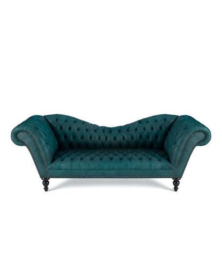 Leather Furniture Hickory North Carolina: Old Hickory Tannery Skylake Leather Sofa