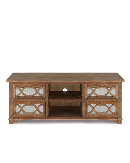 Fulbright Mirrored Entertainment Cabinet