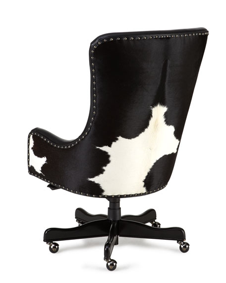 Merveilleux Dougherty Hairhide Executive Office Chair