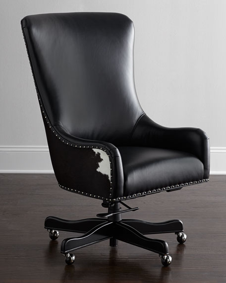 Hooker Furniture Dougherty Hairhide Executive Office Chair