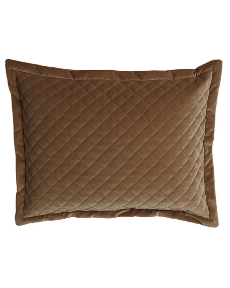 Austin Horn Collection Standard Elite Quilted Velvet Sham