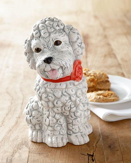 Poodle Cookie Jar