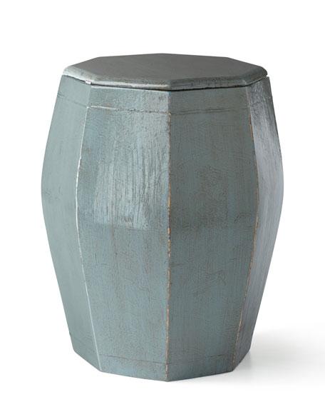 Antique Wooden Rice Bucket