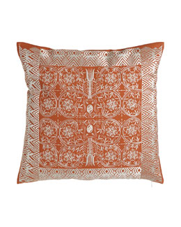 Baramati Embroidered Pillow