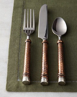 GG Collection 20-Piece Hammered Flatware Service