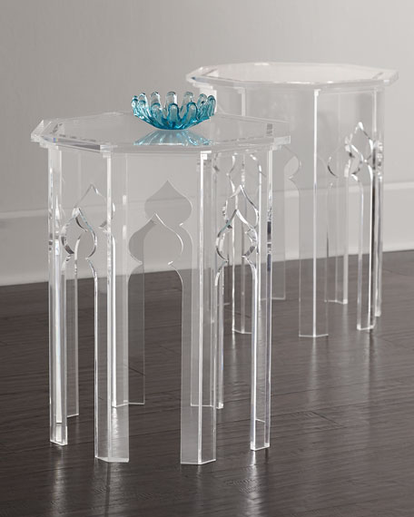 Aiden Acrylic Side Table