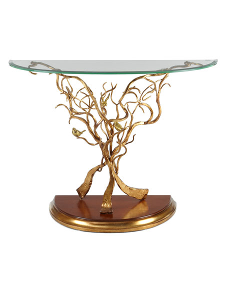 Gilded Branch Console