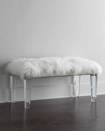 Alala 40L Sheepskin Bench
