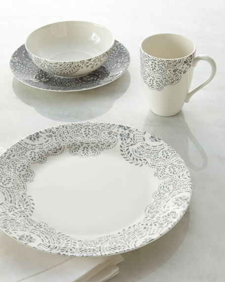 & Lenox Four-Piece Marchesa French Lace Place Setting