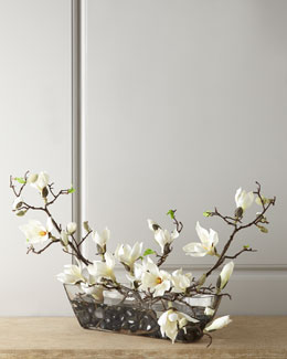 John-Richard Collection Faux Magnolias