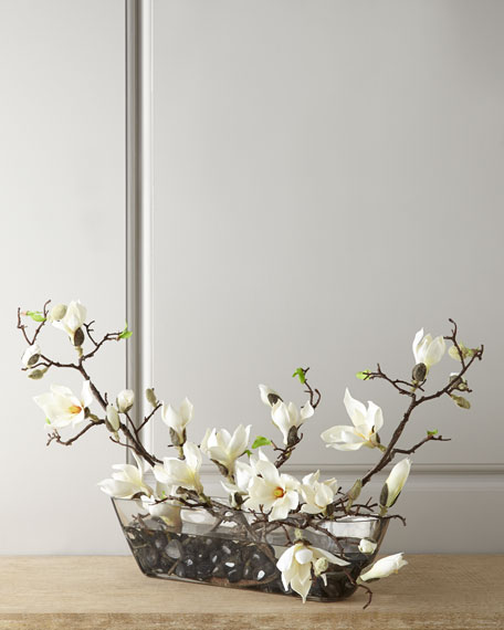 Faux Magnolias