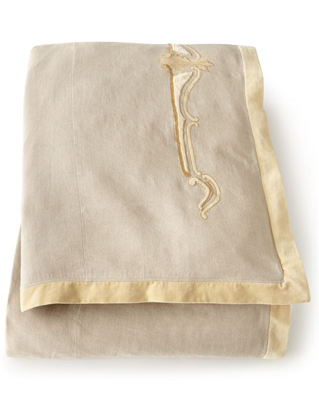Como Queen Linen Duvet Cover