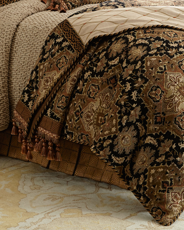 Sweet Dreams King Casablanca Geometric Dust Skirt