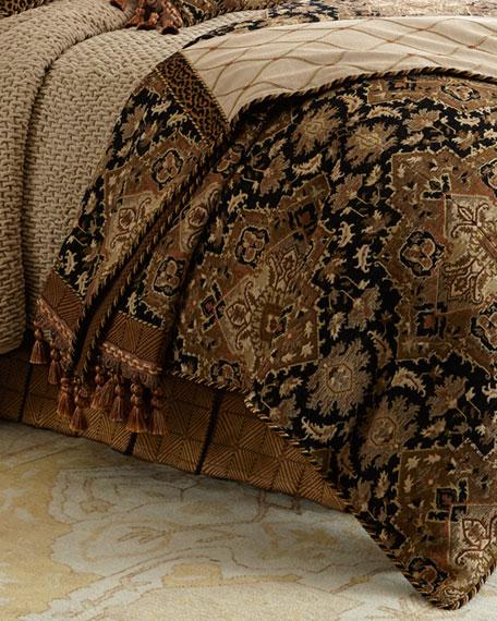 Queen Casablanca Geometric Dust Skirt
