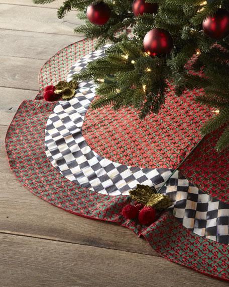 Rococo Christmas Tree Skirt