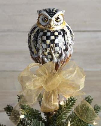 Owl christmas tree topper - Lookup BeforeBuying