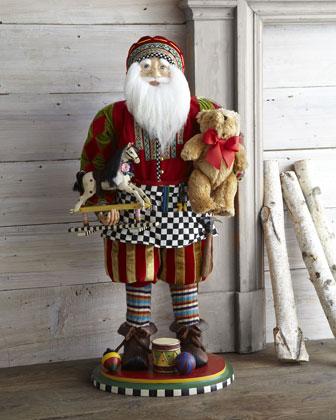 Mackenzie Childs Toymaker Santa